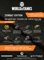 World of Tanks PC Combat Edition Starter Pack