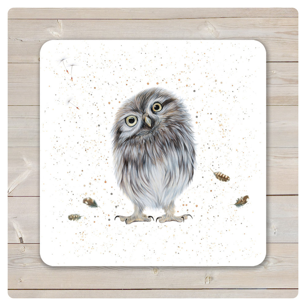 'Woodland Collection' Placemat - 'Twit' Little Owl