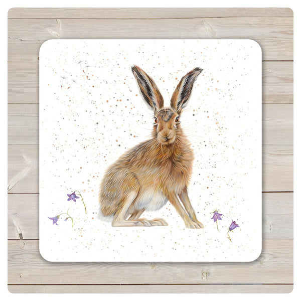 'Woodland Collection' Placemat - 'Harebell' Hare - Harebell Designs
