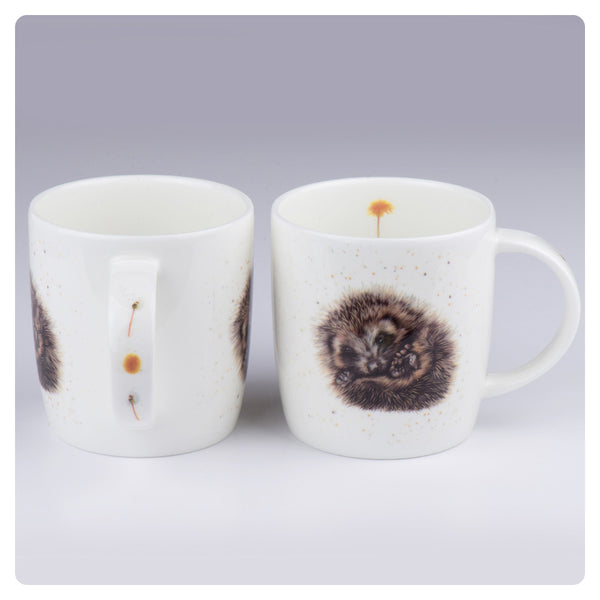 'Prickle' Hedgehog - Fine Bone China Mug - Harebell Designs