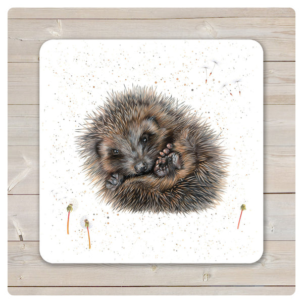'Woodland Collection' Placemat - 'Prickle' Hedgehog - Harebell Designs