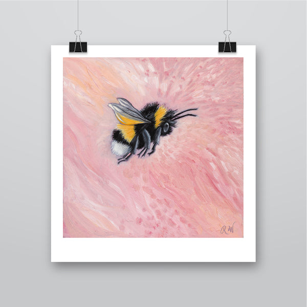 'Peony Pink' Flower Bee - Harebell Designs