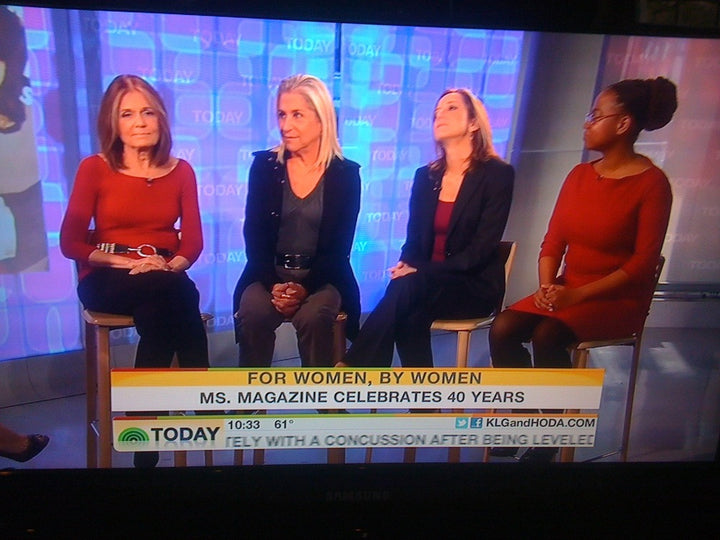 Suzi Roher Belt On The Today Show