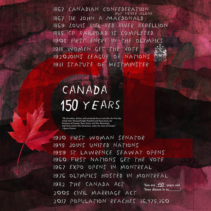 Celebrating 150 Years! Happy Birthday Canada