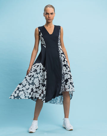 Summer Navy Dress