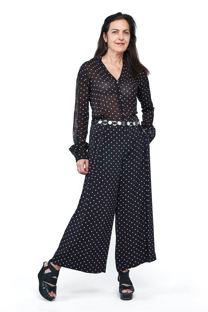 Poke-a-Dot Blouse