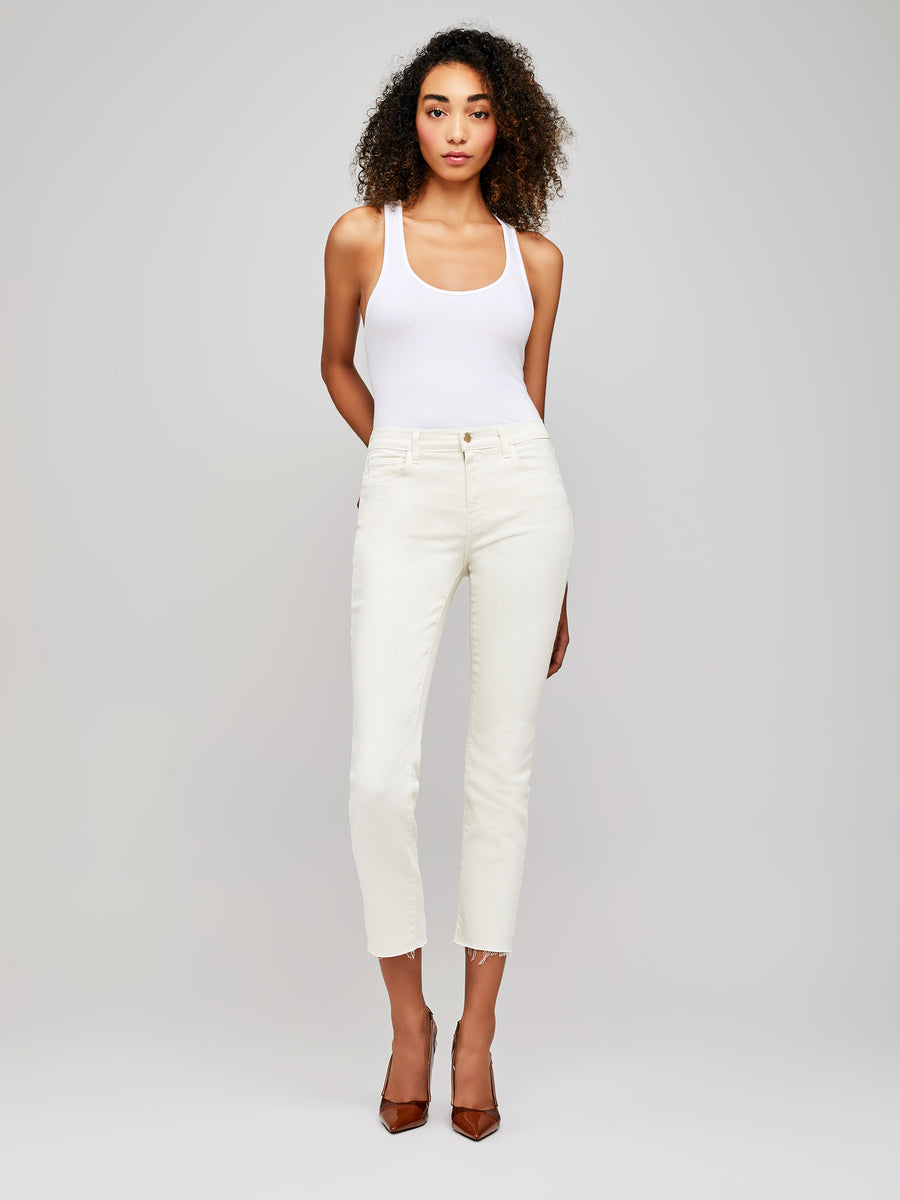 Sada High Rise Crop Jean