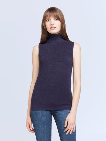 Sabrina Sleeveless Turtle Neck
