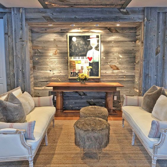 Interior ideas for your living room with PLAANK