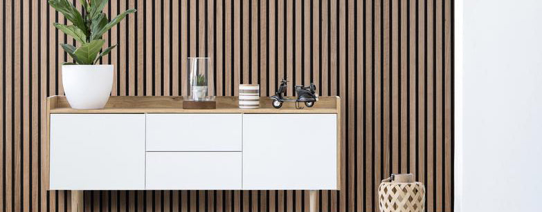 Sensationally stylish wall panelling with acoustic properties…