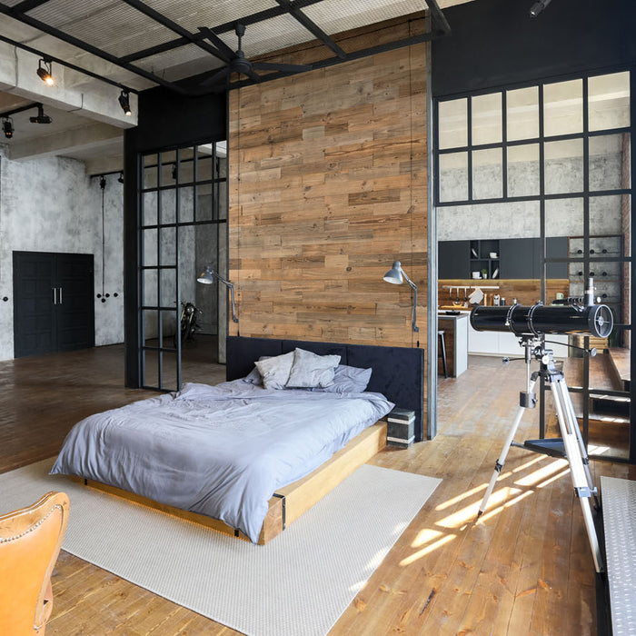 Industrial looks, the stylish way…