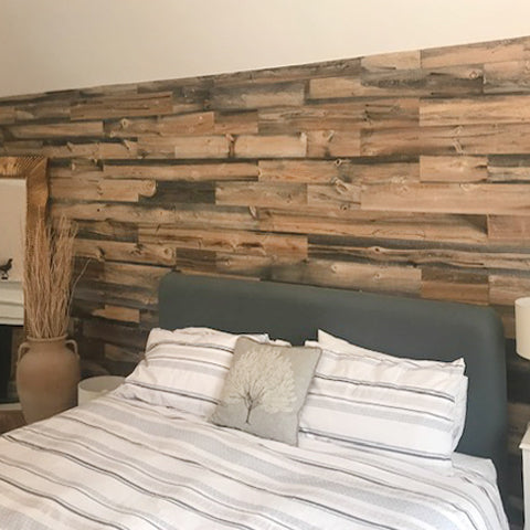 Seven great reasons for using wooden wall panelling in your home