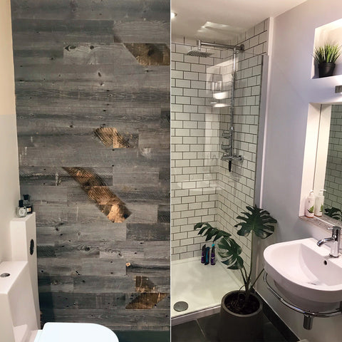 Are wooden wall panels suitable for a bathroom? | Wood ...