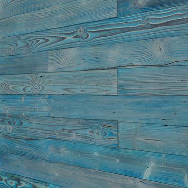 Aqua Blue Reclaimed Wood Wall Panels