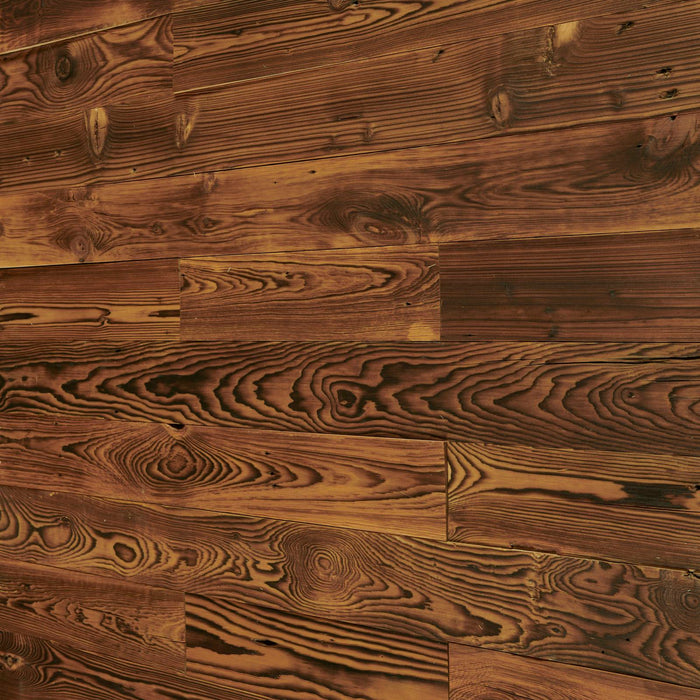 Burntwood Brown Reclaimed Wood Wall Panels