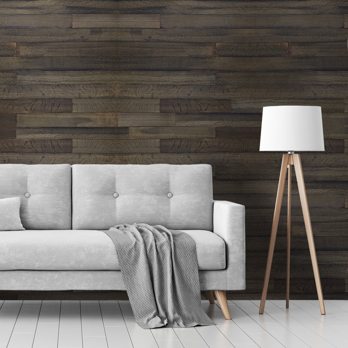 Charlestown Grey Oak Reclaimed Wood Wall Panels
