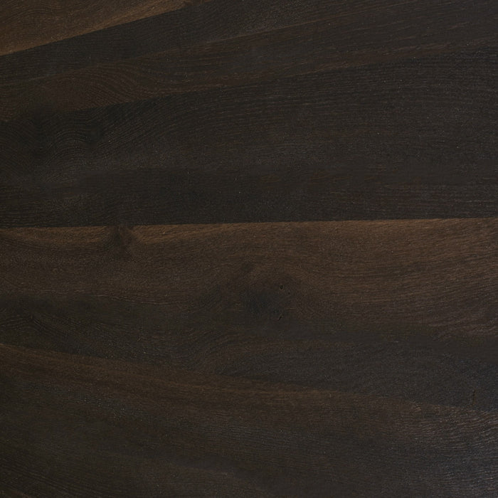 Smoked Oak Wood Panel Angle