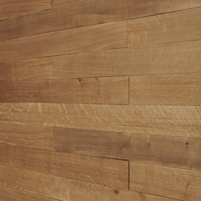 Golden Brown Oak Reclaimed Wood Wall Panels