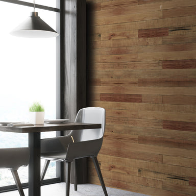 Honey Brown Oak Reclaimed Wood Wall Panels