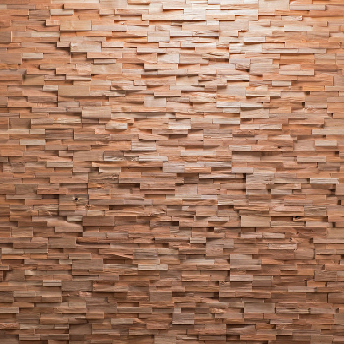 Grohe 3D Layered Wood Panel Plain Wall