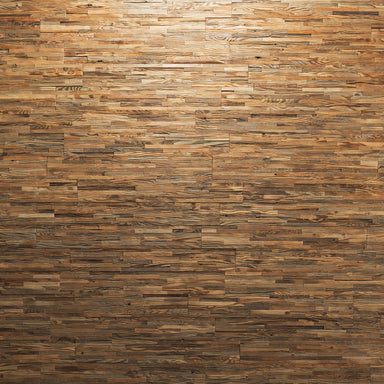 Wenner 3D Golden Antique Pine Wood Plain Wall