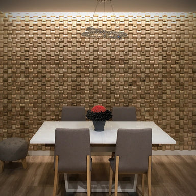 Daim Curved 3D Wood Wall Panels