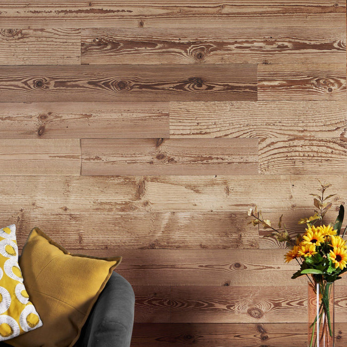 Pine Wood Wall Panelling Lifestyle