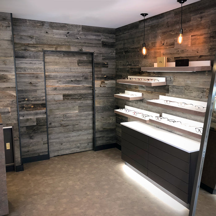 Rocky Mountain Grey Reclaimed Wood Wall Panels