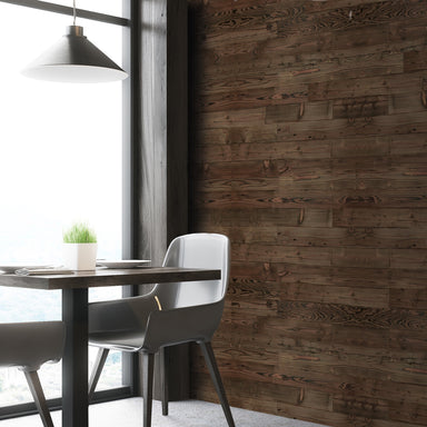 Smoked Hickory Reclaimed Wood Wall Panels