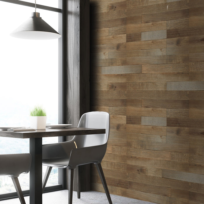 Sunkissed Sable Oak Reclaimed Wood Wall Panels