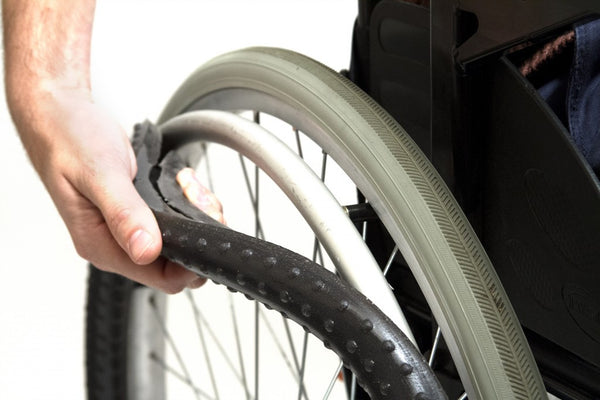 Pair of Grippoz Wheelchair Push-rim Covers