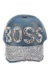 BOSS Denim Hat - HOT SUGAR BOUTIQUE
