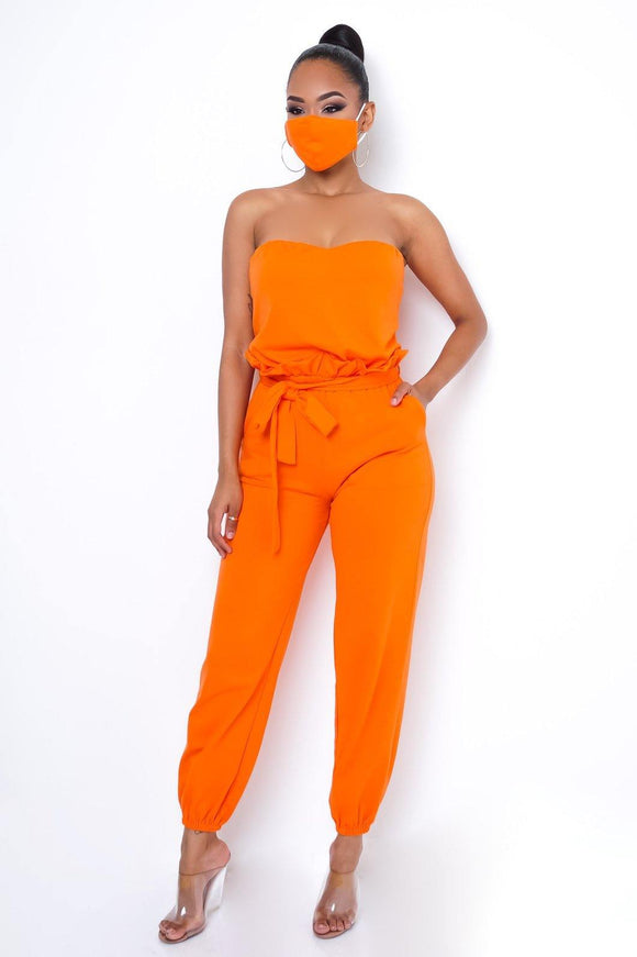 Audrey Jumpsuit - HOT SUGAR BOUTIQUE