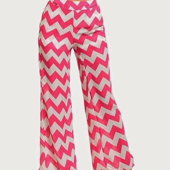 Pink Palazzo Pant - HOTSUGARBOUTIQUE