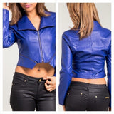 Colbalt Jacket - HOTSUGARBOUTIQUE