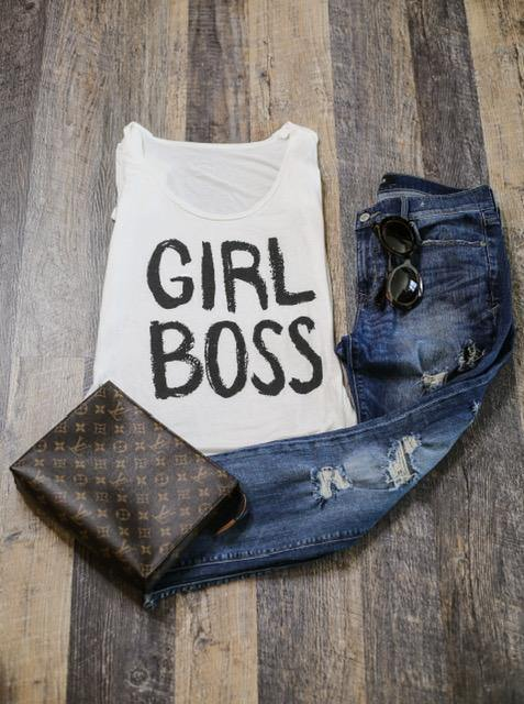 Girl Boss Tee - HOTSUGARBOUTIQUE