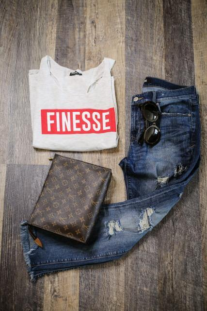 Finesse Graphic Tank - HOTSUGARBOUTIQUE