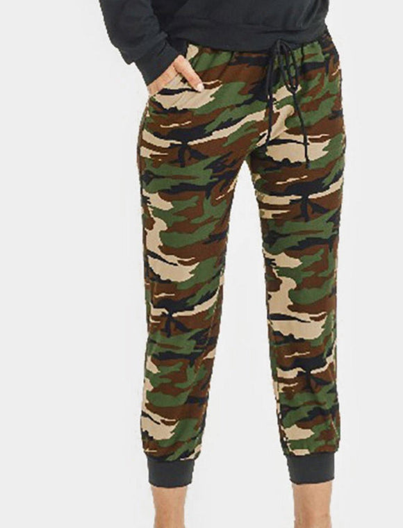 Camo Joggers - HOT SUGAR BOUTIQUE