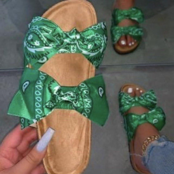 Bow Knot Beach Slipper - HOT SUGAR BOUTIQUE