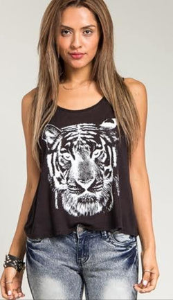 Tiger Eye Top - ASTRIABOUTIQUE