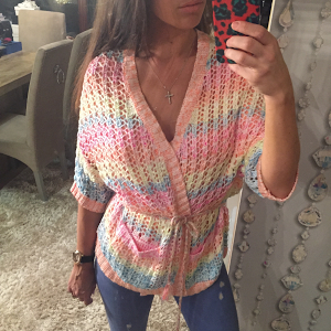 Odemai Rainbow Knitted Jumper