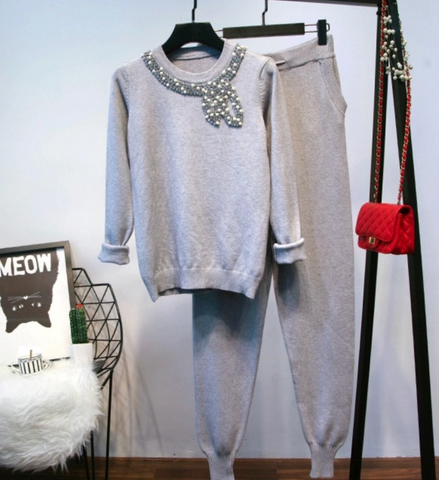 BEAU GREY SET