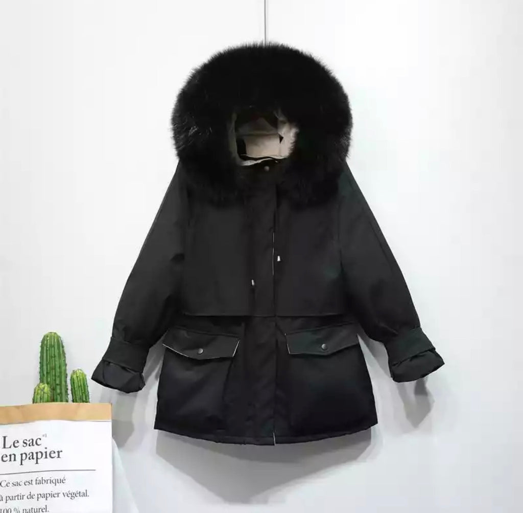 HARRIET BLACK COAT