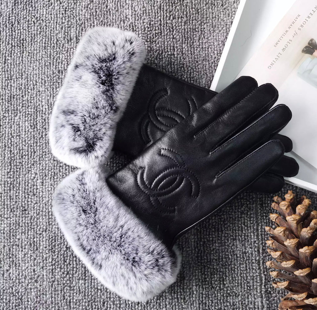 Leather Cece Gloves