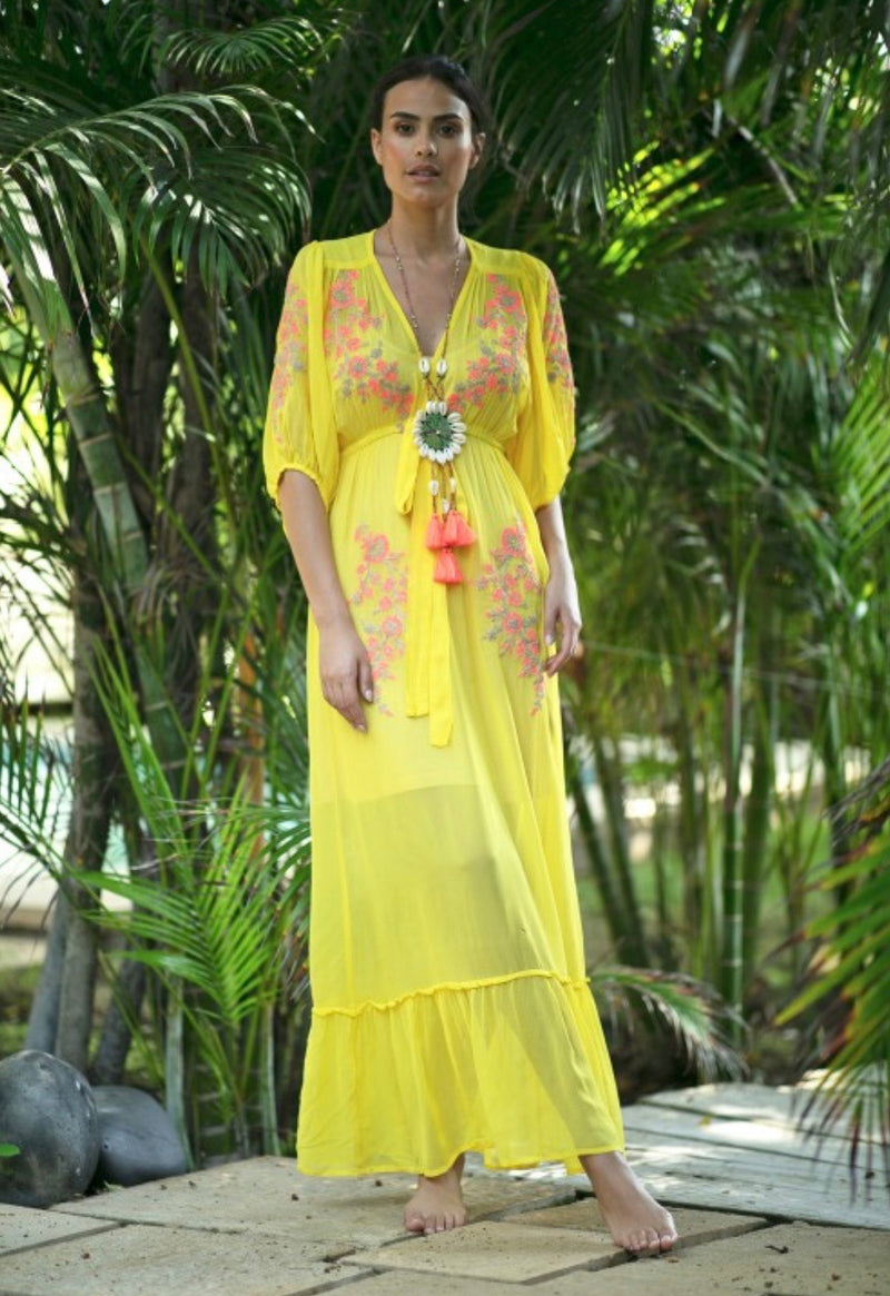 Dress IMPALA YELLOW