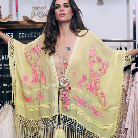Laurie & Joe Tassel Kaftan