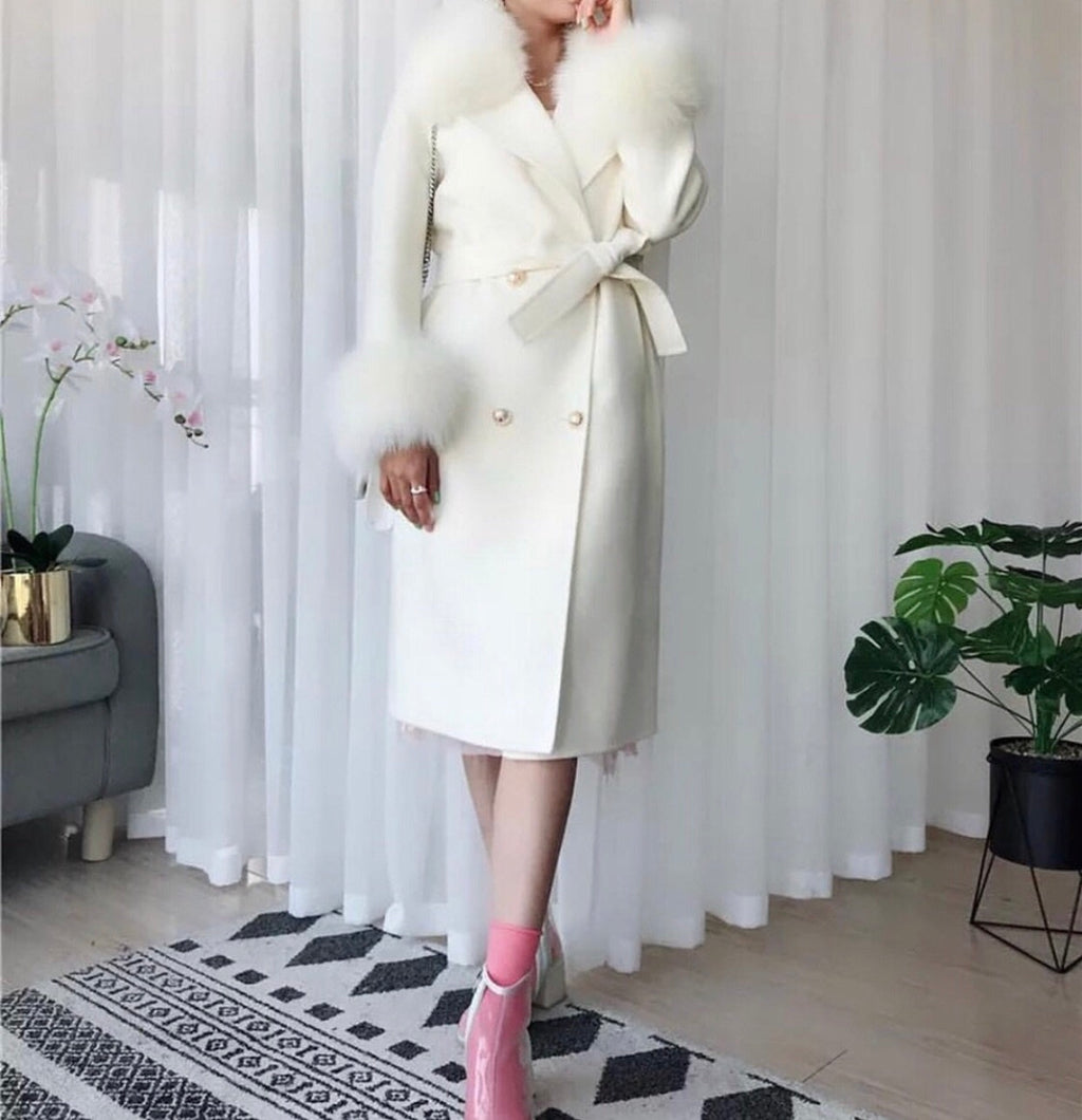 MIMI CREAM COAT