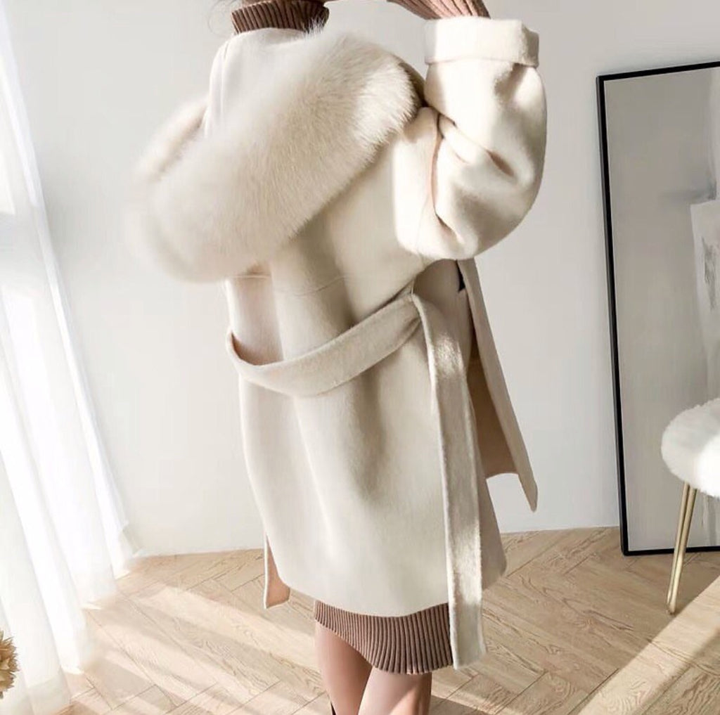 LOLLY CREAM COAT