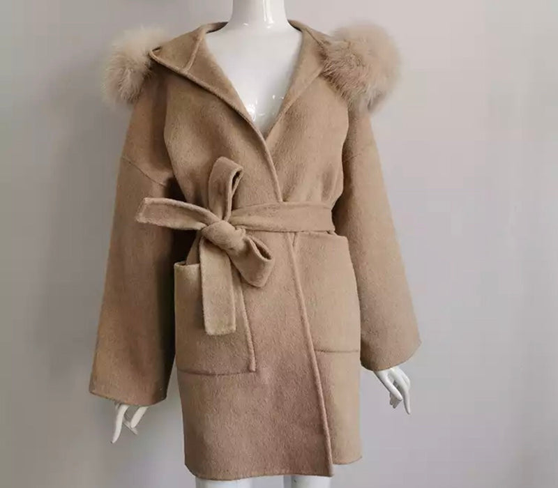 LOLLY TAN COAT