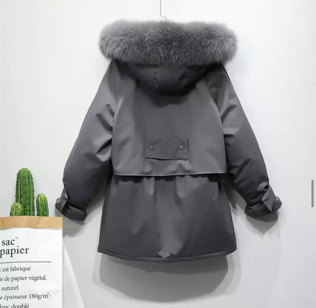 HARRIET GREY COAT
